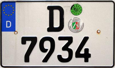 nummernschilder düsseldorf